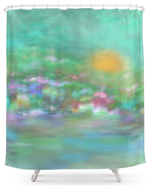Pastel Colors Shower Curtain