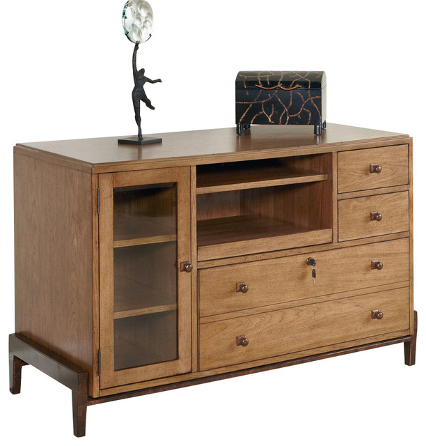 hammary home office credenza desk transitional buffets and sideboards