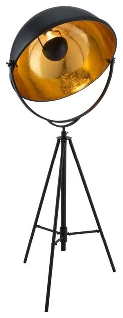 Zuo Modern 56054 Vauxhall 1 Light 63 Floor Lamp, Antique Black.