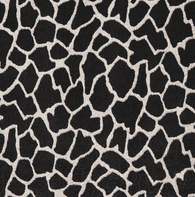 E405 Giraffe Animal Print Microfiber Fabric
