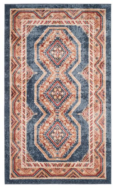Adalyn Traditional Persian Area Rug, 120x180 cm