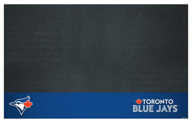 "Mlb Toronto Blue Jays Grill Mat 26""x42""."