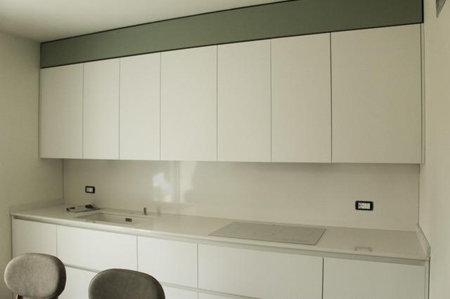 Nuova abitazione unifamiliare moderno-cucina