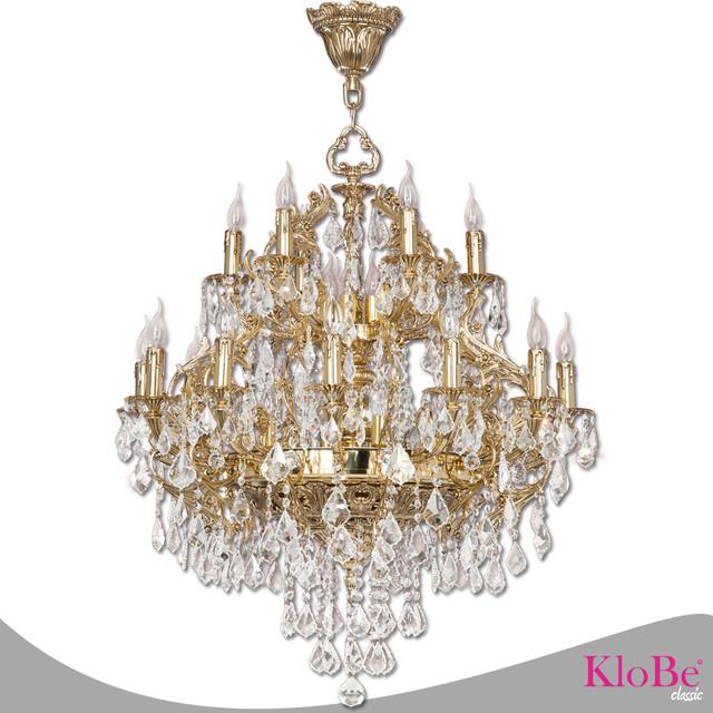 Paris 30 light brass chandelier victorian chandeliers by klobe paris 30 light brass chandelier bright nickel victorian chandeliers mozeypictures Image collections