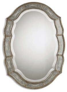 mirror in the bathroom fifi uttermost fifi mirror contemporary wall mirrors by 23772