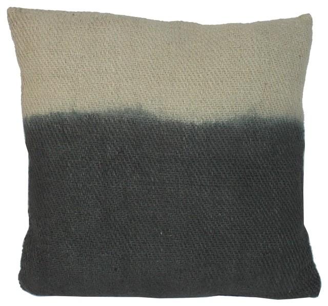 Ombre Cotton Khadi Scatter Cushion 45x45 Cm