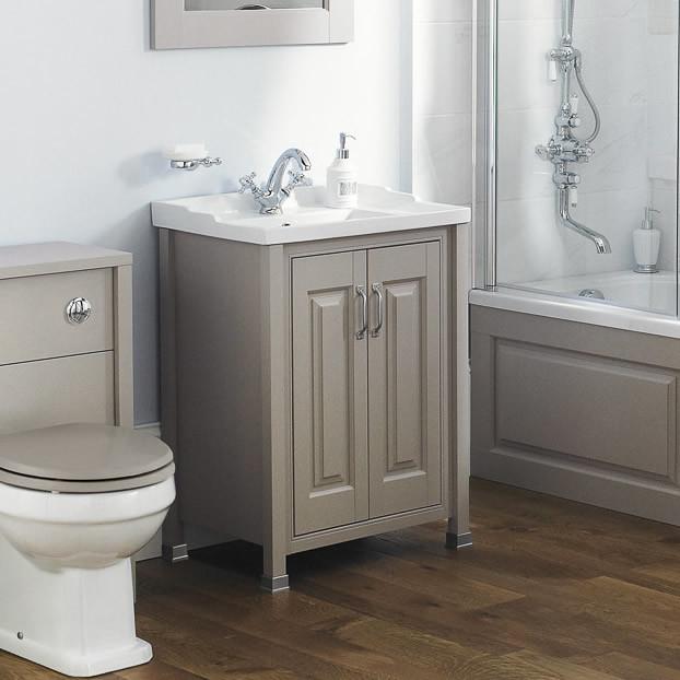 Old london stone grey vanity unit - Marble vanity units ...