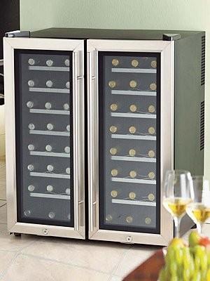 Wine Enthusiast - 2-Zone Wine Refrigerator