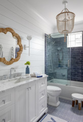3 Design Tricks to Make a Narrow Bathroom Look Larger