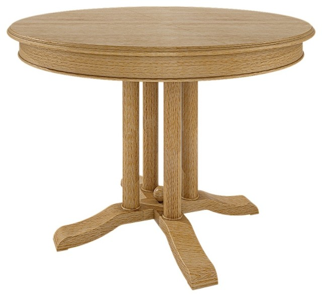 Casamia allegro pine kitchen table with folding tabletop for Traditional dining table uk