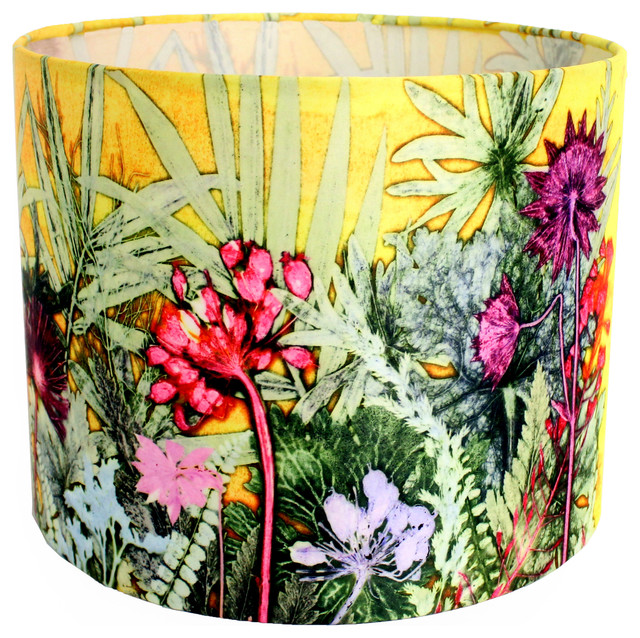 Tropical Sunshine Lampshade For Table Lamp, Small