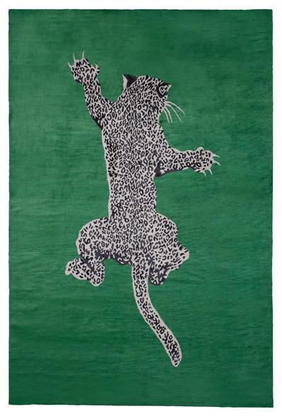 Climbing Leopard by Diane Von Furstenberg eclectic rugs