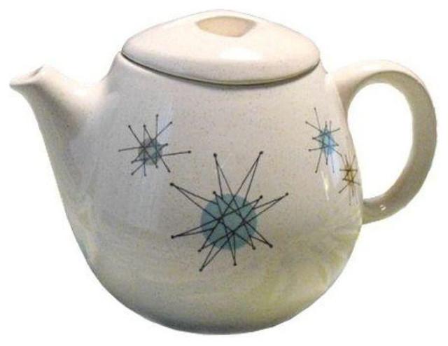 Franciscan Atomic Starburst Teapot - $400 Est. Retail - $250 on ...