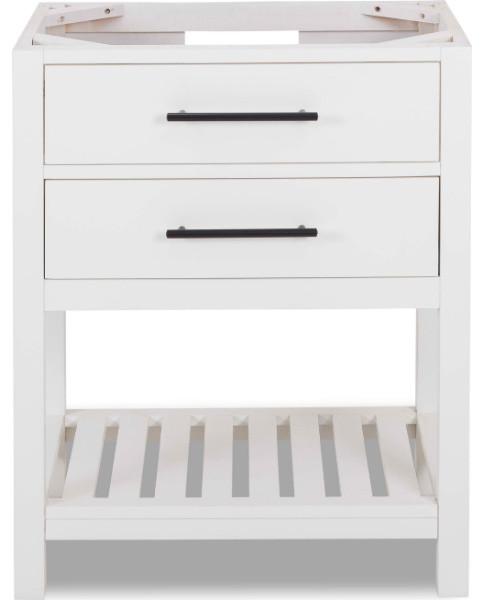 Contemporary Vanity Base Cabinet