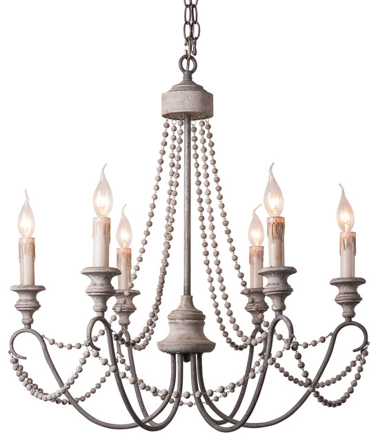 Agiola chandelier rustic chandeliers by terracotta for Houzz rustic lighting