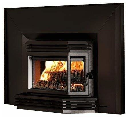 2200 Wood Insert, Black Door Overlay, Large Faceplate, Black Trim Kit, 32 X 50.