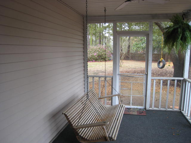 Dirty Screen Porch to Sunny Playroom