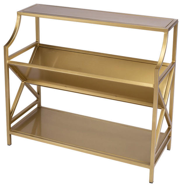 Butler Keats Antique Gold Librarie Bookcase