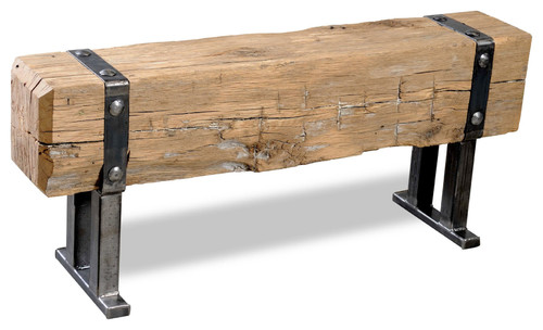 Beam Bench Strapped, 48