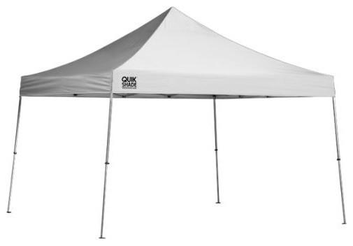 Shelter Logic 12&x27;x12&x27; Quik Shade We144 Straight Leg Canopy, White.