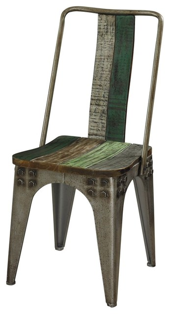 Awesome Powell Calypso Side Chair, 1 Pack Rustic Dining Chairs