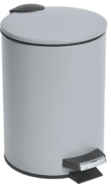 Round Metal Toilet Step Trash Can Bath Home 3 Liter 0 8