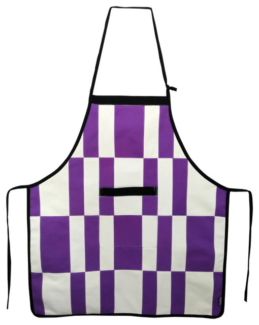 Gardening Apron With Pocket Purple Aprons Durable Apron Adjustable Straps  Contemporary Aprons
