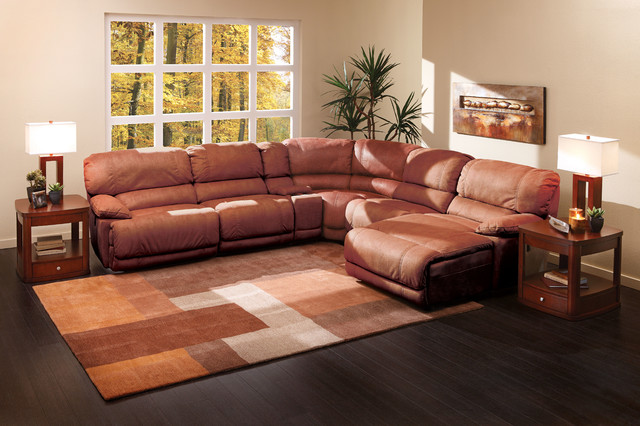 Incroyable The Cloud II 6 Pc Sectional Living Room