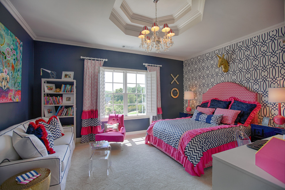 Tween Girls Bedroom & Bathroom - Marietta, GA - Atlanta ...