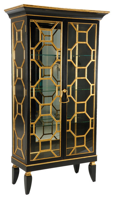 Baker Street Display Cabinet - China Cabinets And Hutches - by Design to the Trade