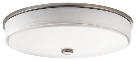 Kichler 10885ni Santiago 2 Light Flush Mount Indoor Ceiling Fixture.