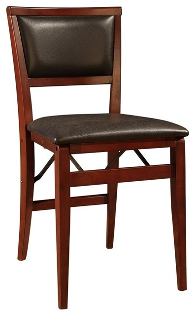 Kiera Pad Back Folding Chair