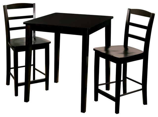 madrid 3piece counter table and stool set