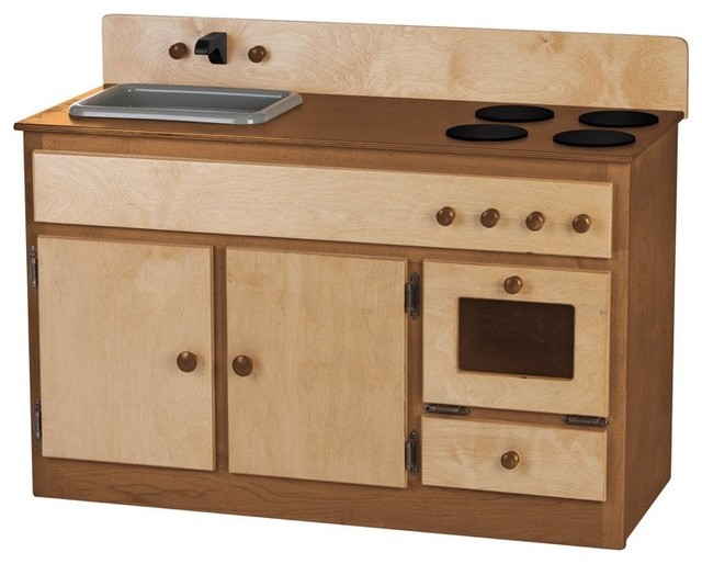 Toy Kitchen Sink, Stove and Oven Play Furniture - Contemporary ...