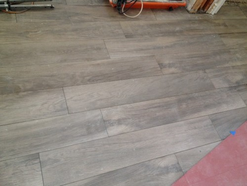 Grout Color For Light Wood Look Tile