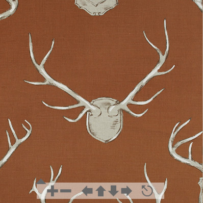 CR Laine Antlers Fabric