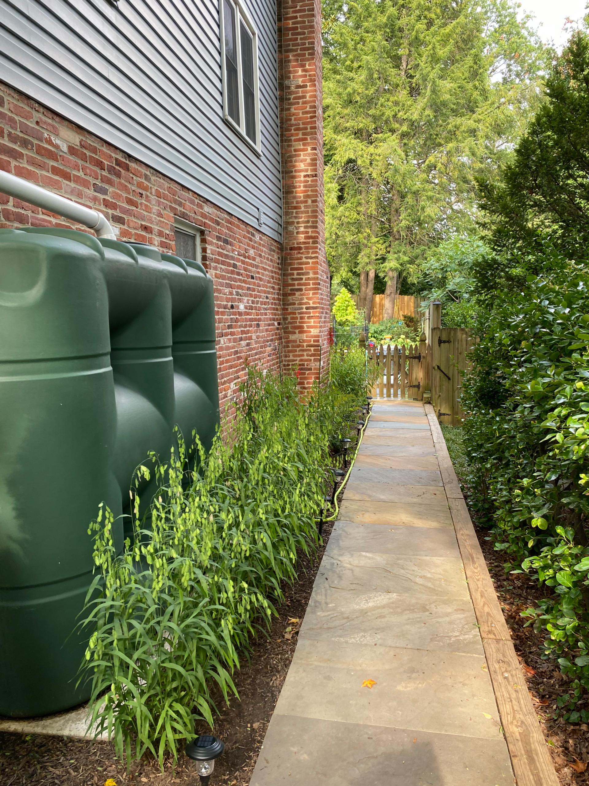 Rear and Front Bethesda Home Landscape