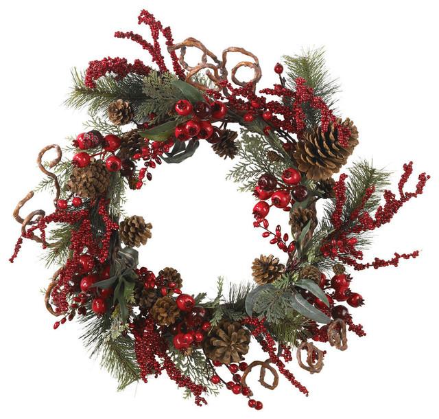 24 Assorted Berry Wreath.