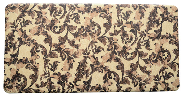 Stephan roberts home premium kitchen anti fatigue for Traditional kitchen rugs