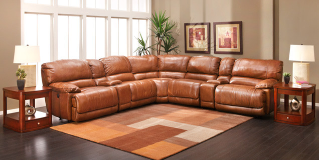 Sectional Sofa Group Transitional Family Room