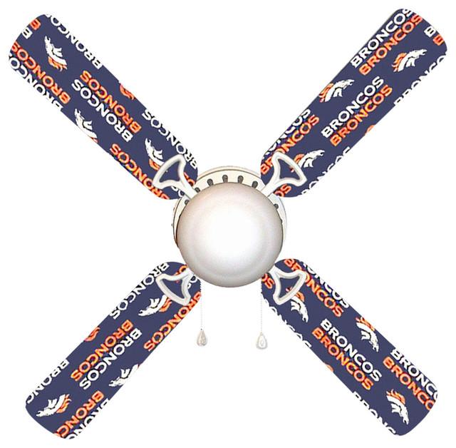 888 Cool Fans Denver Broncos 42 Quot Ceiling Fan And Lamp