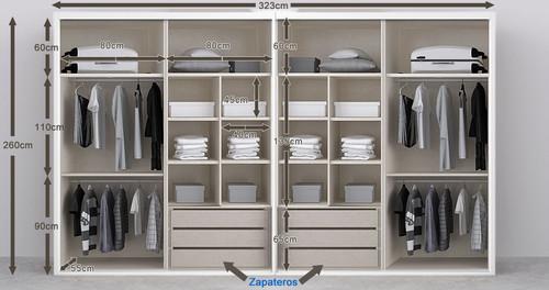 Ideas para vestir 3 armarios empotrados for Papel para forrar armarios empotrados