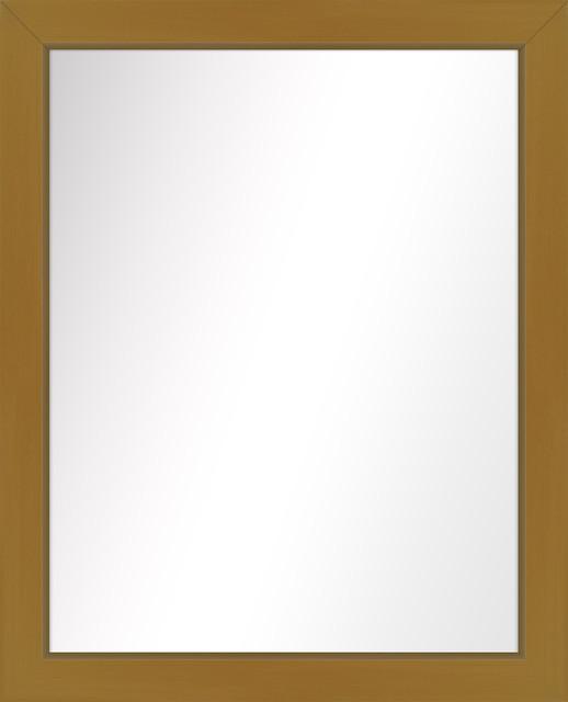 Over The Sink Vanity Mirror, Antique Gold, 25.5x31.5.