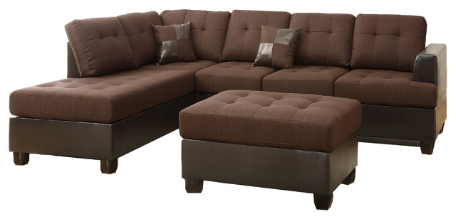Hamar Sectional With Matching Ottoman And Pillows