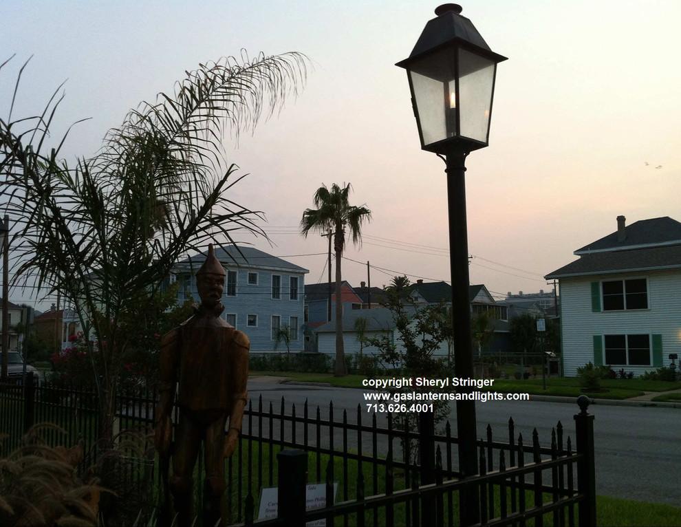 Plantation Gas Lantern on Pole by Sheryl Stringer