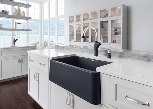 New Blanco Ikon Silgranit Sink
