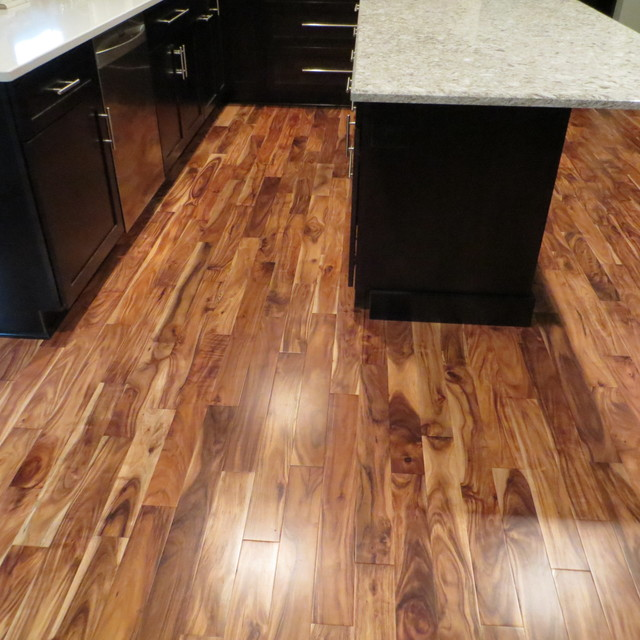 Solid Acacia Blonde Prefinished Traditional Minneapolis by