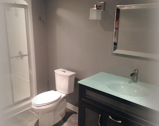 Home renovations for Landscape architects bath