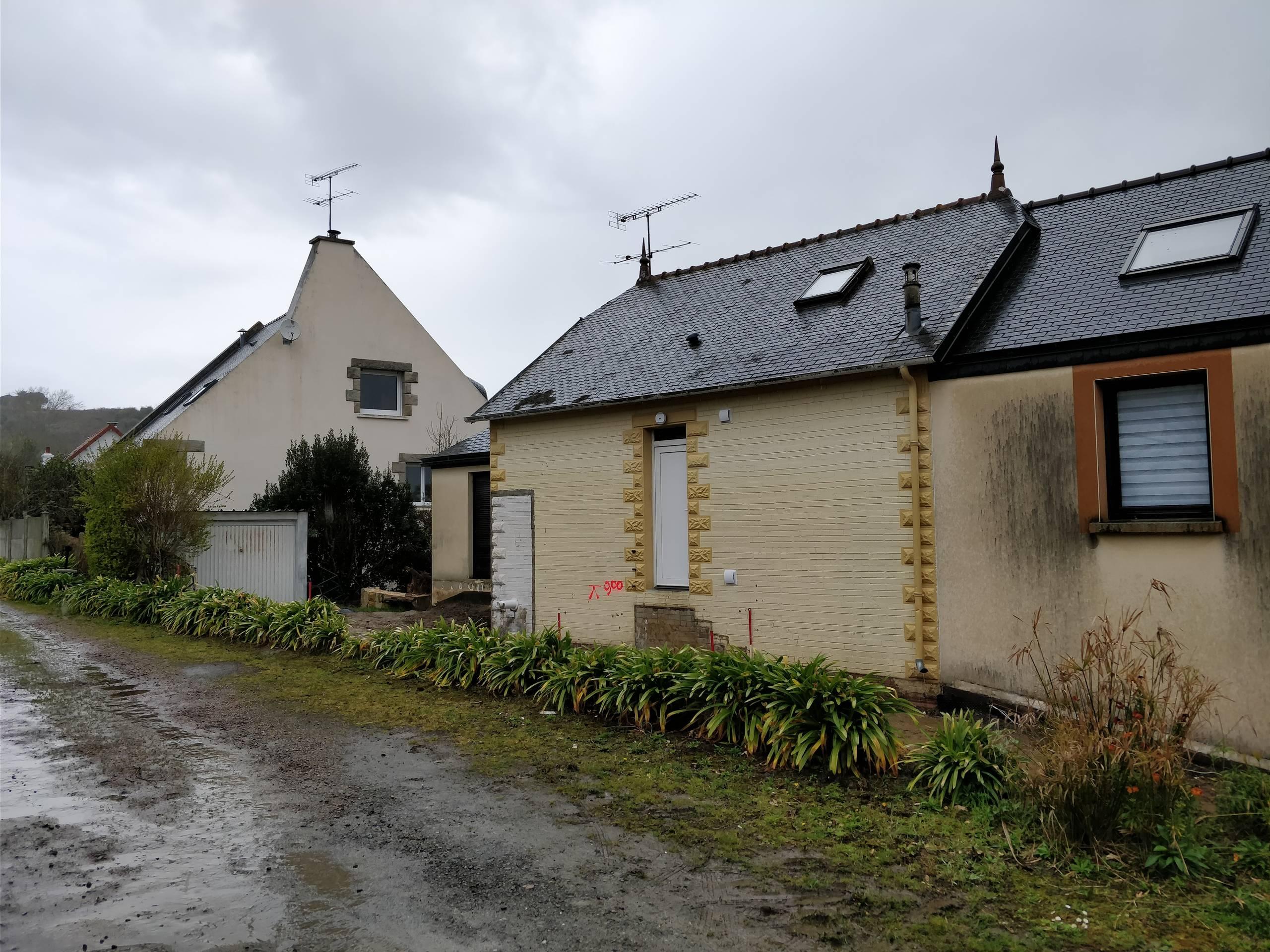 Extension d'une maison de pecheur