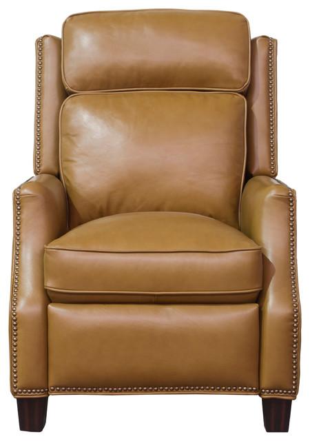 Van Buren Recliner, Shoreham Ponytail All Leather